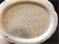 """West Coast Pottery Vase, 9"""""""