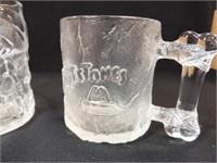 McDonald's Batman (2), Flintstone Mugs