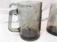 McDonald's Grimace, Cpt Cook Mugs (2)