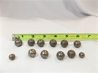Metal Marbles (likely) (12)