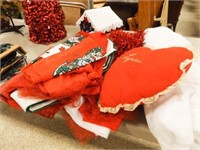 Holiday/Christmas Decorations - 1 Tub
