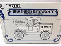 Ford 1918 Runabout Bank, Diecast, Otasco