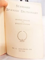 Spanish/English Dictionary, Lit Books (3)