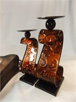 Tin Wall Sconce, Candle Holders