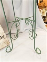 Green Plant Stand, Art Canvas