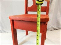 Vintage Handmade Children's Chair