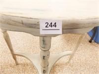 """Shabby Half Table 24"""" x 23"""" x 12"""""""
