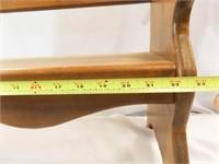 "Wood Bench, Child Size 21"" x 23"" x 11"""