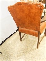 """Wood Upholstered Chair 35"""" x 25"""" x 19"""""""