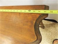 """Wood Half Table, 29"""""""