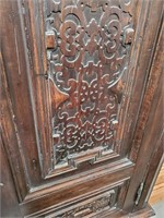792 - CARVED WOOD ARMOIR (2007 COST +$5000)