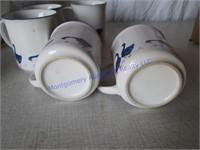 DUCK COOKIE JAR & CUPS