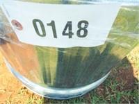 "Oval Stock tank, metal, 24"" x 41 x  24"", small"