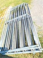 10' Gate, no paint, bent bars