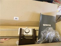 White Easy Knitter; Accessories
