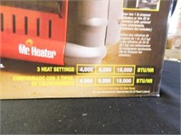 Big Buddy Portable Propane Heater