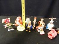 Disney Figures; M & M collectibles