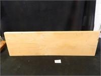 Wooden Shelf; 2-Sconces w/holders