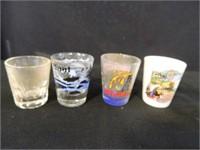 Shot Glasses; Coke Glass; (11) Items