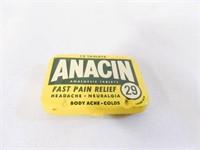 Anacin Tin-no Contents