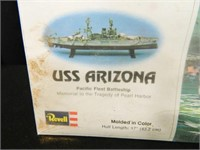 Revell USS Arizona Battleship Model