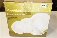 20 Pieces - Dinner Set, Porcelain