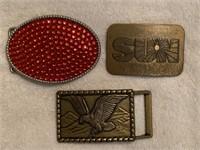11 belt buckles