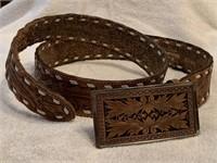 1 Leather belt