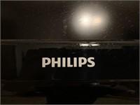 "36"" Phillips flat screen TV"
