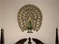 Mid Century Modern Peacock Wall Art