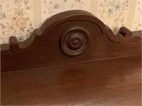 Antique walnut dining room buffet