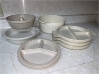 Melamine and Tupperware