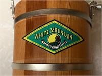 White Mountain junior ice cream maker
