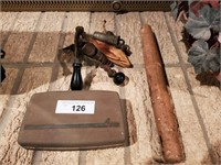 Vintage Bullet Press & Norelco Razor