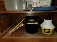 T-fal Safety Fryer, Contents of 2 Shelves