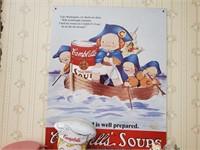 Campbell Soup Mug, Thermos, Collectibles