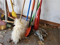 Mop, Duster, & Brush