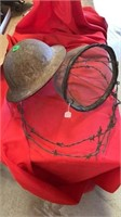 RING OF BARBED WIRE, HORSE FLY BASKET TO KEEP