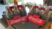 11 BOTTLES OF 8 OZ COCA COLA AND 1 BOTTLE OF