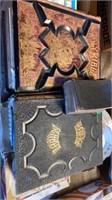 3 OLD BIBLES, 1 IN GERMAN