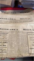 LOCAL PAPERS FROM THR 1900'S