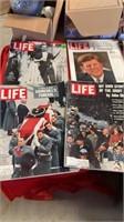 1960'S LIFE MAGAZINES  AND 1996 BASEBALL ALL