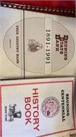 BRUNING CHIRCH AMS CENTENNIAL BOOKS , OHIOWA