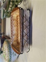 2 PIECE TEMP-TATIONS PRESENTABLE OVENWARE, OLD