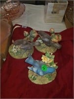 3 BIRDS-2 ROBINS, 1 BLUEBIRD BY ANDREA, 1 MUSIC