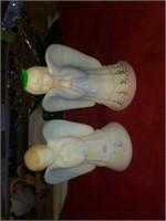 FENTON ANGELS AND 2 FENTON BRIDESMAIDS