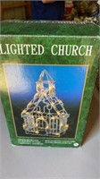 LIGHTED CHIRCH