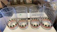12 CHRISTMAS GLASSES