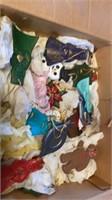 BOX OF BEAUTIFUL HOMEMADE CERAMIC ORNAMENTS, 5