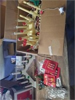 BOX OF VARIOUS CANDOLIER LIGHTS, INDOOR ONLY,